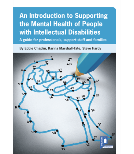 Cover of the book - An Introduction to Supporting Mental Health of People with Intellectual Disabilities - A guide for professionals, support staff and families