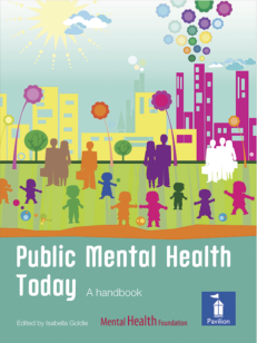 Cover of the book - Public Mental Health Today - A handbook