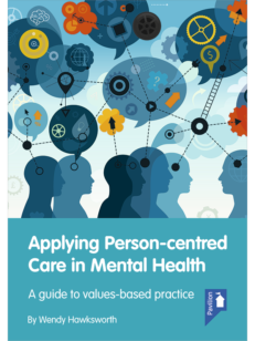 Cover of the book - Applying Person-centred Care in Mental Health - A guide to values-based practice