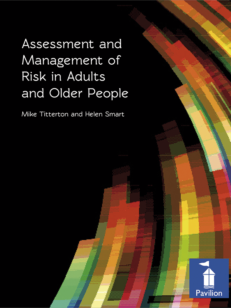 Cover of Assessment and Management of Risks in Adults and Older People