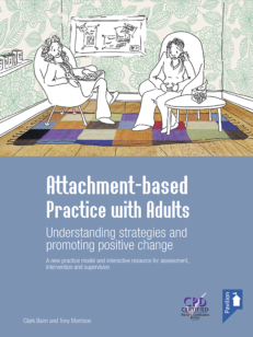 Cover of the book - Attachment-based Practice with Adults