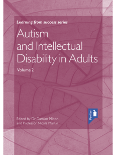 Cover of book of Autism and Intellectual Disability in Adults (Volume 2) - Learning from success series