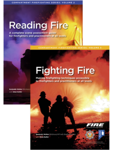 Book covers of Reading Fire and Fighting Fire
