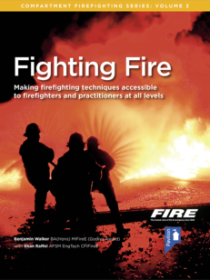 Cover of the book - Fighting Fire (Volume 3) - Making firefighting techniques accessible