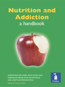 Cover of the book - Nutrition and Addiction - supporting recovery from food