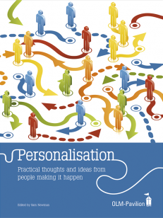 Cover of the book - Personalisation - Practical thoughts and ideas from people making it happen
