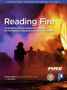 Book cover for Reading Fire