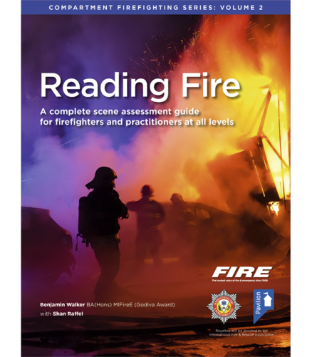 Cover of the book - Reading Fire (Volume 2) - A complete scene assessment guide
