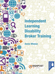 Cover of the book - Independent Learning Disability Broker Training
