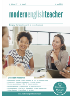 Cover of Modern English Teacher Bringing the latest research to your classroom - Classroom Research