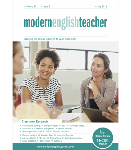 Cover of the book - Modern English Teacher Bringing the latest research to your classroom - Classroom Research