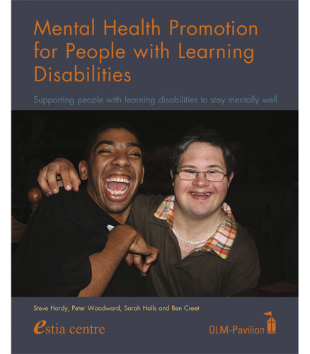Cover of the book - Mental Health Promotion for People with Learning Disabilities - Supporting people with learning disabilities