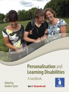 Cover of the book Personalisation and Learning Disabilities - A handbook