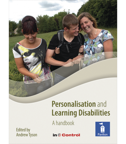 Cover of the book - Personalisation and Learning Disabilities - A handbook