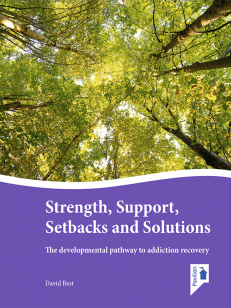 Cover of the book - Strength, Support, Setbacks and Solutions - The development pathway to addition recovery