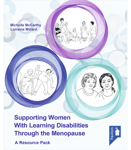 Cover of the book - Supporting Women with Learning Disabilities Through the Menopause - A Resource Pack
