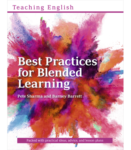 Cover of the book - Teaching English Best Practices for Blended Learning