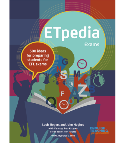Cover of the book - ETpidia Exams - 500 ideas for preparing students for EFL exams