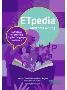 Cover of the book - ETpedia Materials Writing- 500 ideas for creating English language materials