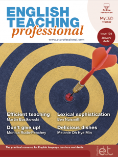Cover of the book - English Teaching professional