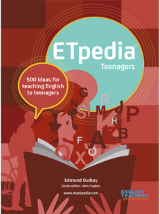 Cover of the book - ETpedia Teenagers - 500 ideas for teaching English to teenagers