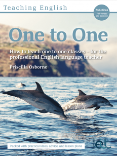 Cover of the book - One to One - How to teach one to one classes - for the professional English language teacher