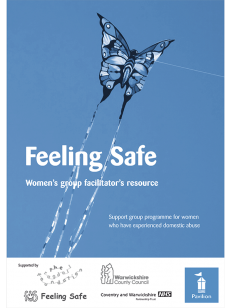 Cover: Feeling Safe – Women's Group Facilitator's Resource