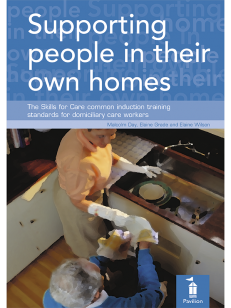Cover of the book - Supporting people in their own homes