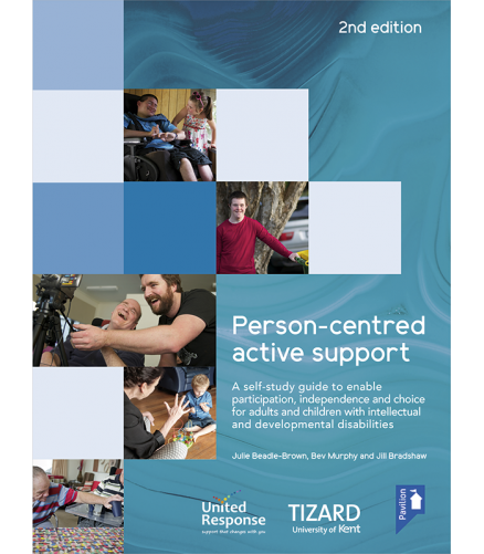 Cover of the book - PCAS-Self Study Guide - A self-study guide to enable participation, independence and choice for adults and children with intellectual and developmental disabilities