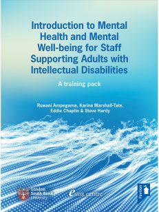 Cover of the Book - Introduction to Mental Health and Mental Well-being for Staff Supporting Adults with Intellectual Disabilities