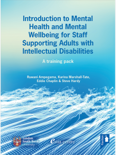 Cover of the Book - Introduction to Mental Health and Mental Wellbeing for Staff Supporting Adults with Intellectual Disabilities