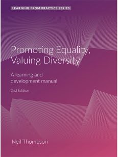 Cover of the book - Promoting Equality, Valuing Diversity - Learning From Practice Series