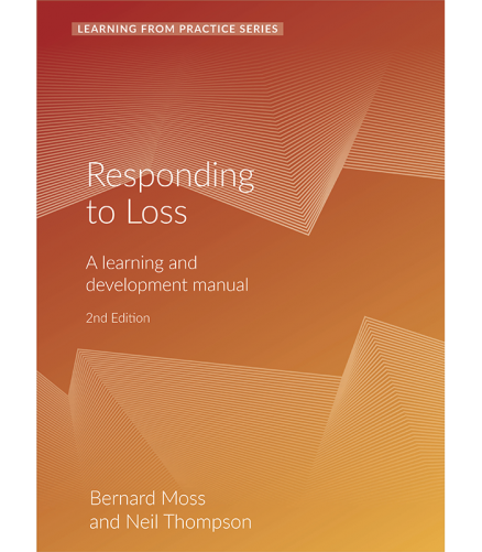Cover of the book - Responding to Loss - Learning From Practice Series