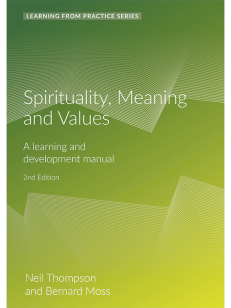 Cover of the book - Spirituality, Meaning and Values - Learning From Practice Series