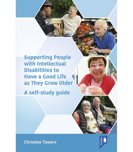 Cover of the self-study guide Supporting People With Intellectual Disabilities to have a good life as they grow older