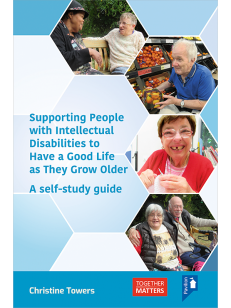 Cover of Supporting People with Intellectual Disabilities to Have a Good Life as They Grow Older a self-study guide