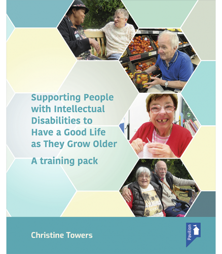 Supporting Cover of the training pack People with an Intellectual Disability to have a good life as they grow older
