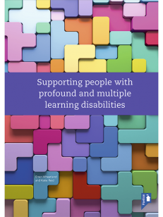 Cover of the book - Supporting people with profound and multiple learning disabilities