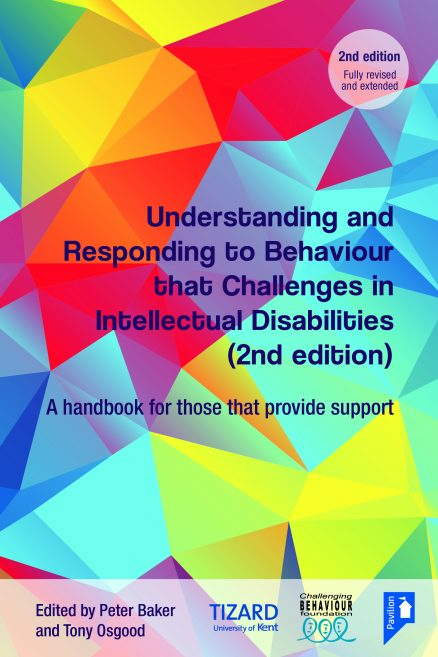Cover of the book - Understanding and Responding to Challenging Behaviour - A handbook for those that provide support