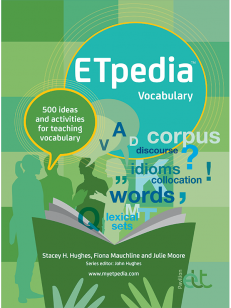 Cover of the book - ETpedia Vocabulary - 500 ideas and activities for teaching vocabulary
