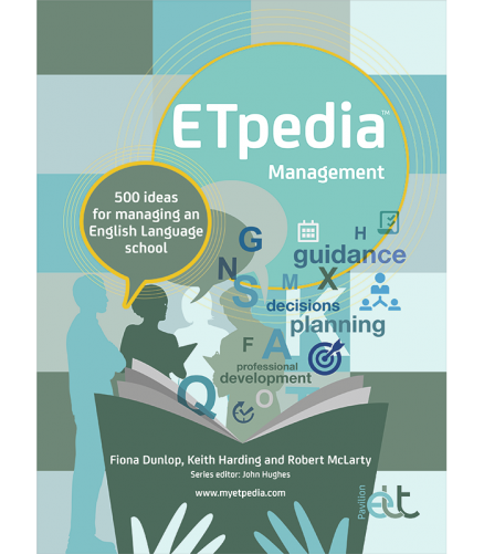 Cover of the book - ETpedia Management - 500 ideas for managing an English Language school