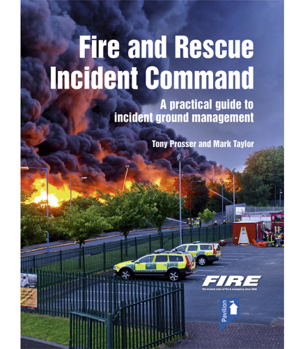 Cover of the book - Fire and Rescue Incident Command - A practical guide to incident ground management