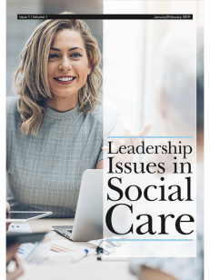 Cover of the book Leadership Issues in Social Care