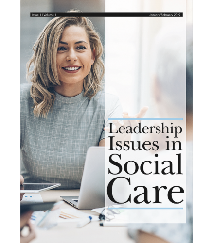 Cover of the book - Leadership Issues in Social Care