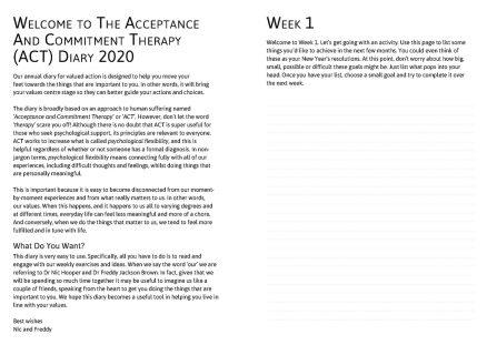 ACT Diary 2020