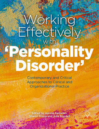 Cover of the book - Working Effectively with Personality Disorder