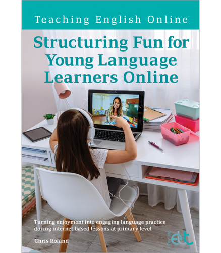 Cover for the book: Structuring Fun for Young Learners Online