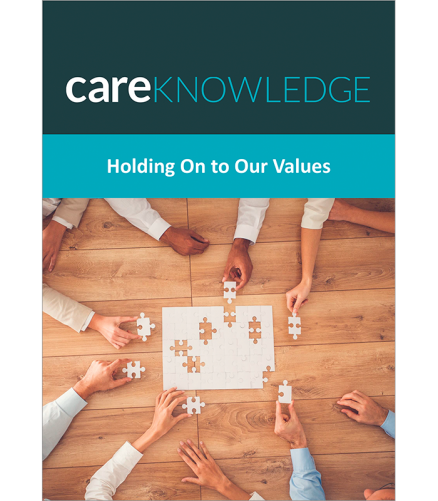 Holding on to Our Values cover