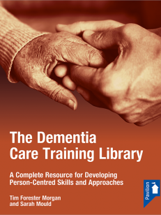 Cover of the ringbinder The Dementia Care Training Library Starter Pack