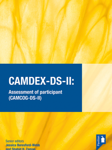 CAMDEX DS II - Assessment of participant (CAMCOG-DS-II)